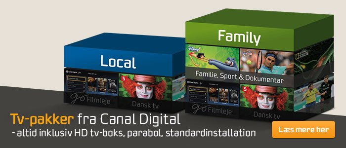 Canal Digital pakker